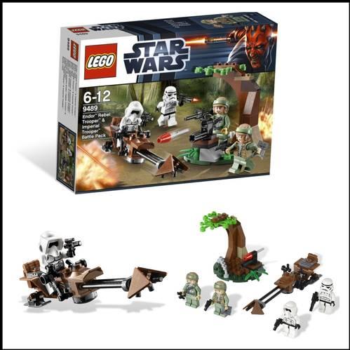 DINOMARKET PasarDinoTM LEGO 9489 STAR WARS ENDOR REBEL
