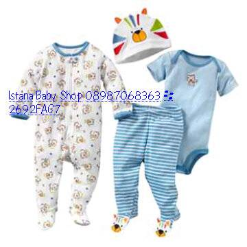 Direct Link for Product Jual termurah pusat Baju Bayi 1 stmoment 4 pc ...