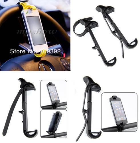 Steering Wheel Phone Holder Multi Function for Car/Bike/etc - Size 9,5 ...