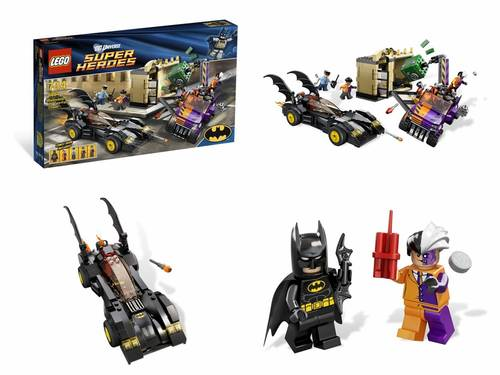Jual LEGO # 6864 SUPER HEROES-BATMAN_BATMOBILE AND THE TWO-FACE CHASE