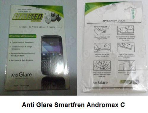 Screen Guard Protector / Pelindung Layar / Anti Gores Glare Smartfren ...