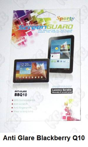 ... Guard Protector / Pelindung Layar / Anti Gores Glare Blackberry Q10