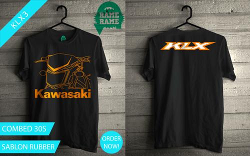 Jual Kaos Motor Kawasaki KLX
