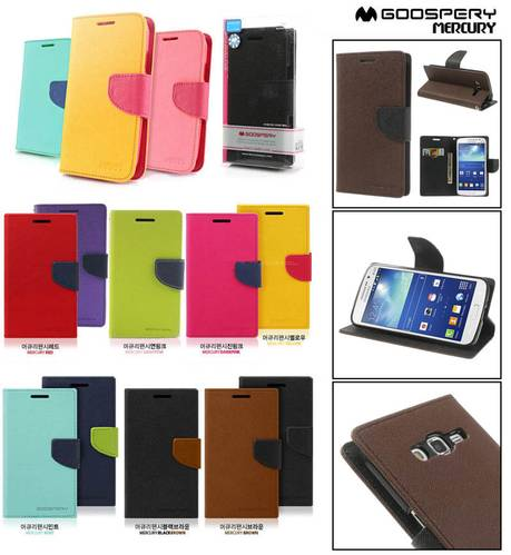 ... Mercury Fancy Diary Wallet Case Samsung Galaxy Grand 2 - Grand 2 Duos
