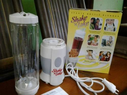 Jual SHAKE AND TAKE BLENDER JUICER PALING MURAH
