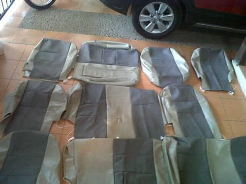 Jual Sarung Pelapis Jok Mobil Chevrolet SPIN Bahan Ferari Standard