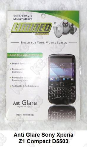 Jual Anti Gores Glare Sony Xperia Z1 Compact D5503 Screen Guard ...