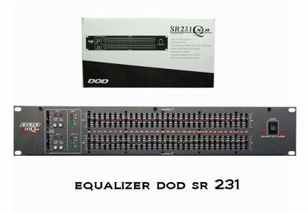 Jual Equalizer China ASHLY - DBX - DOD - PEAVEY - BSS - XTA