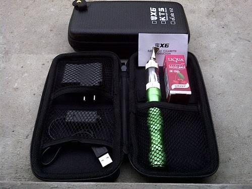 Jual kamry x6 batt 1300mah + iclear 30 tank + free liqua 10ml