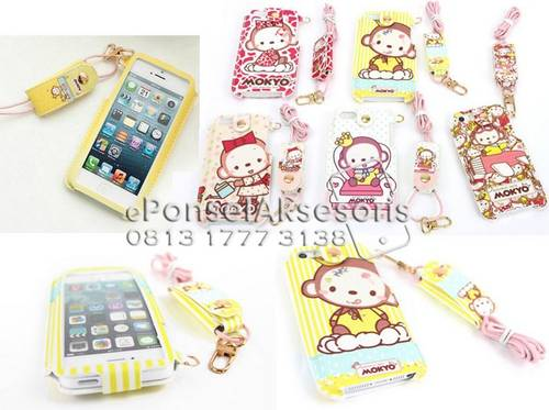 Jual iPhone 5, iPhone 5S Mokyo (Crown Monkey) Inline Shell Case