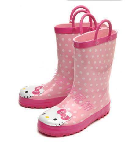 DINOMARKET PasarDinoTM Sepatu Boots Hujan Anak Hello