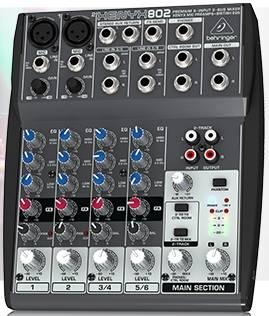 Jual Mixer BEHRINGER XENYX 802 & BEHRINGER XENYX Q802USB,  NEW 100%...