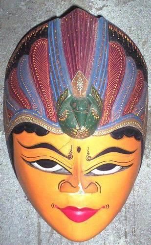Jual Topeng Kayu Batik