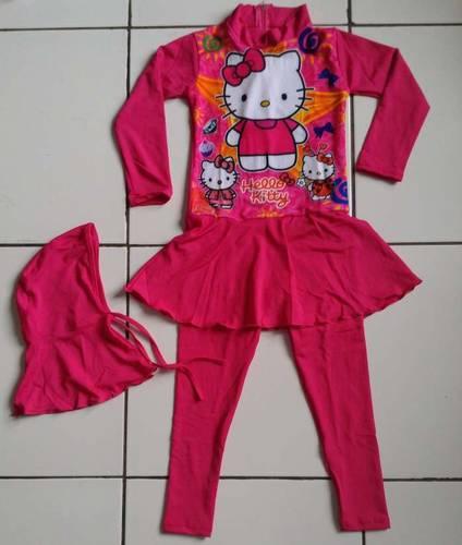 Dinomarket Pasardino Baju Renang Anak Hello Kitty
