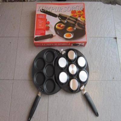 DINOMARKET PasarDinoTM Loyang Kue Teflon Snack Maker
