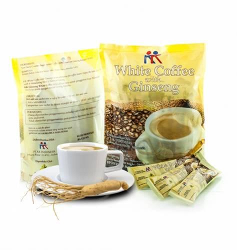 Jual WHITE COFFEE GINSENG UNTUK STAMINA & MENGATASI STRES