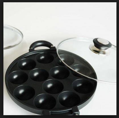 DINOMARKET PasarDinoTM Cetakan Kue 12 Lubang Snack Maker