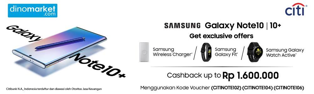 CITI Samsung Galaxy Note 10 Promo