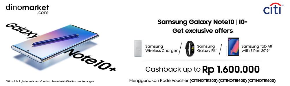Samsung Galaxy Note 10 Series Citibank
