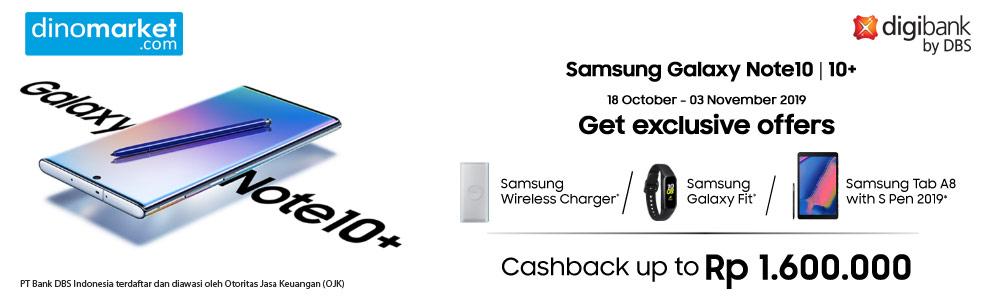 Samsung Galaxy Note 10 Series DBS