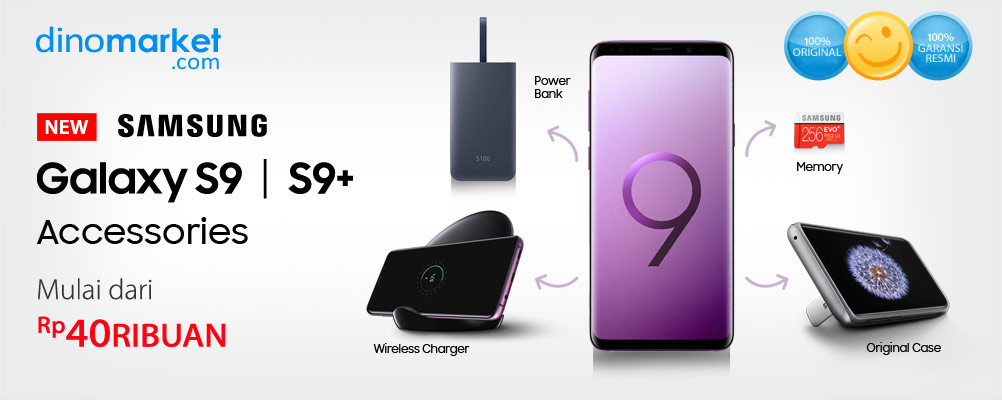 Aksesoris Samsung Galaxy S9 | S9+
