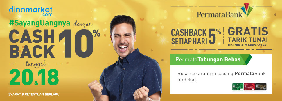 Promo Cashback Debit Permata