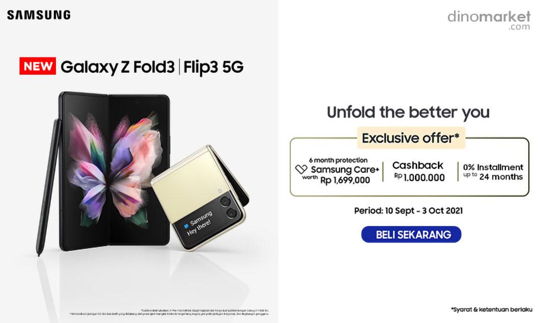 Samsung Galaxy Fold3   Flip3 Consumer Launch