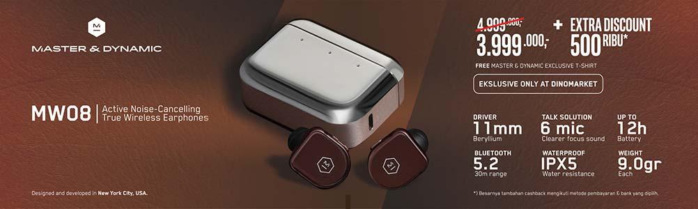 Master & Dynamic ANC True Wireless Earphones MW08
