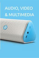 Dashboard Audio Video HP