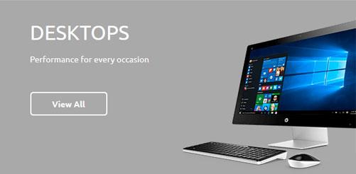 Dashboard Desktop HP