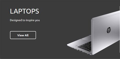 Dashboard Laptop HP