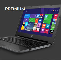 Dashboard Laptop Premium HP