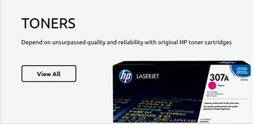 Dashboard Toners HP