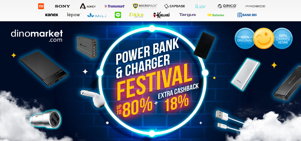 PowerBank & Charger Festival