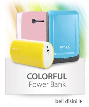 Colourful Power Bank