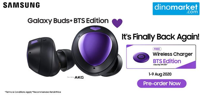 Samsung Galaxy Buds+ BTS