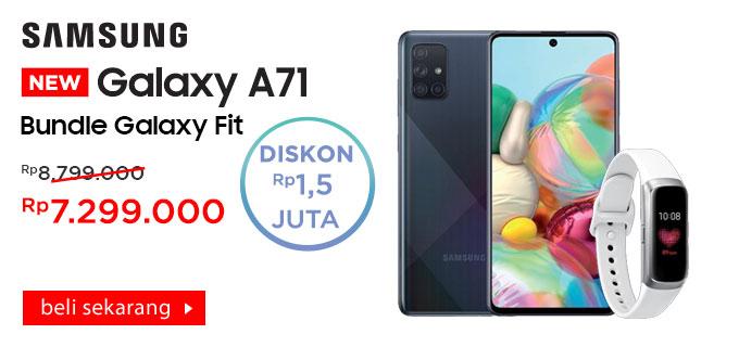 Samsung Galaxy A71 + Galaxy Fit