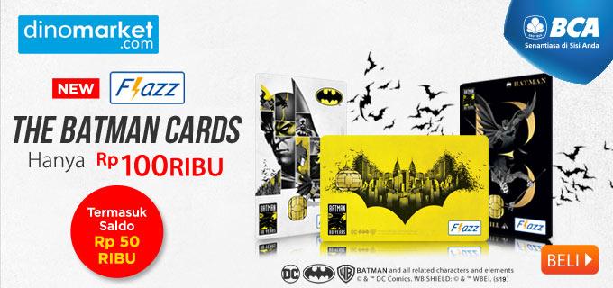 BCA Flazz The Batman Cards