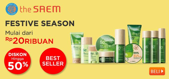 The SAEM Cosmetic from Korea Festive Season