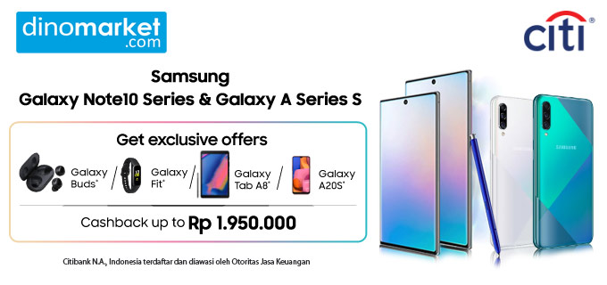Samsung Galaxy Note 10 | A Series - Citi