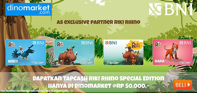 BNI Tapcash Riki Rhino