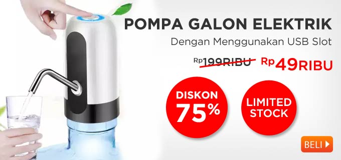 Pompa Galon Electric Water Dispenser Bottle Pump