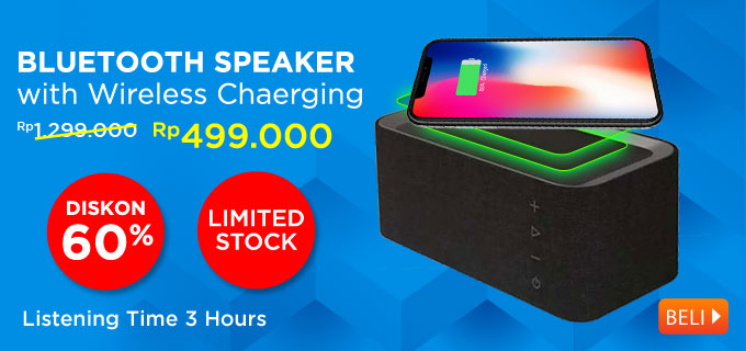 Bluetooth Speaker with Wireless Chaerging X2 Istage
