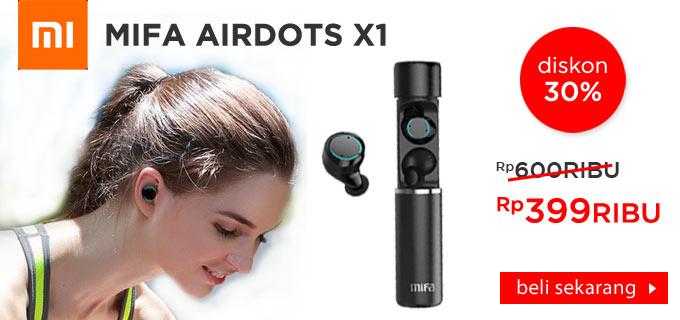 Xiaomi Mifa Airdots X1 Sport Earphone Headset TWS