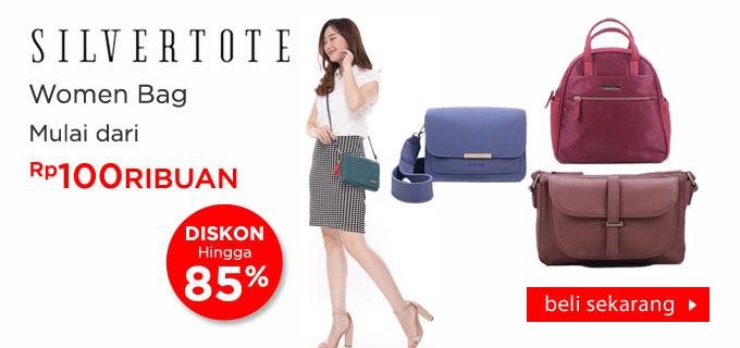 Silvertote Woman Bag Tas Wanita