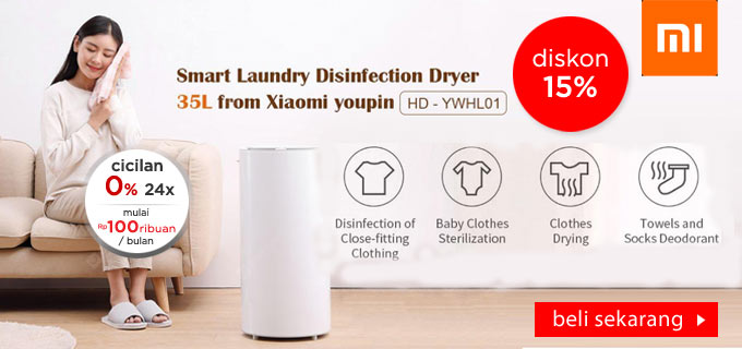 XIAOMI YOUPIN Smart Clothes Laundry Disinfection Dryer 35L