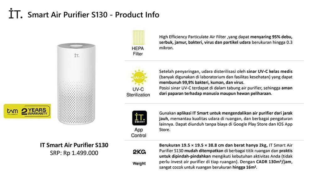 IT Smart Air Purifier S130