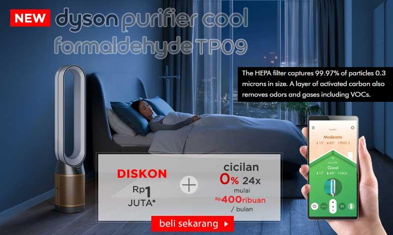 Dyson Purifier Cool Formaldehyde purifying fan TP 09 & TP 07
