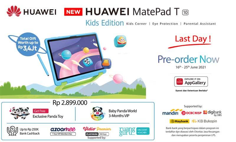 NEW Huawei Matepad T10 Kids Edition