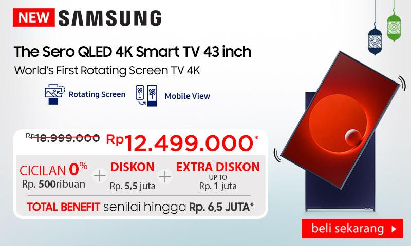 Samsung The Sero 4K Smart TV 2020 43inch LS05T
